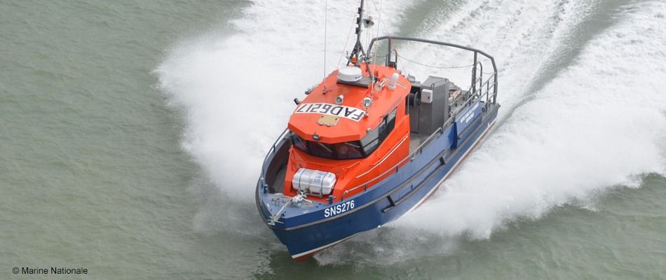 12m search and rescue vessel for SNSM